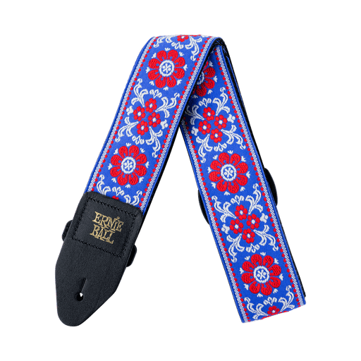 ERNIE BALL - MORNING BLOSSOM JACQUARD GUITAR STRAP