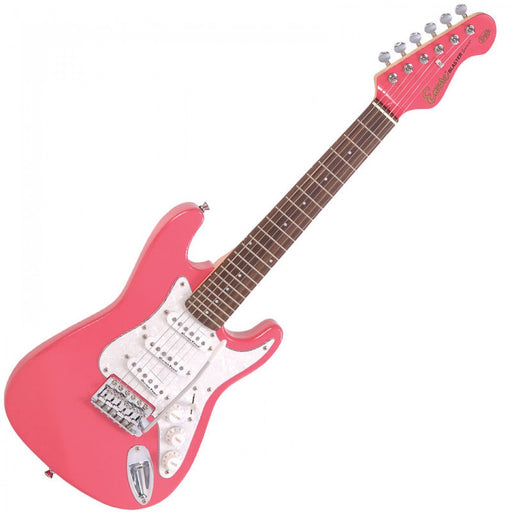 Encore 3/4 Size E375 Electric Starter Guitar Pack - Pink