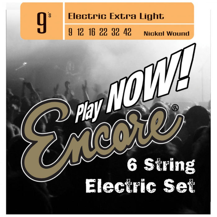 Encore 3/4 Size E75 Electric Starter Guitar Pack - Black