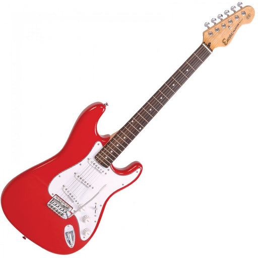 Encore E6 Electric Starter Guitar Pack - Red