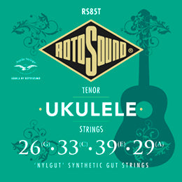 Rotosound Ukulele Tenor Strings RS85T 26,33,39,29.