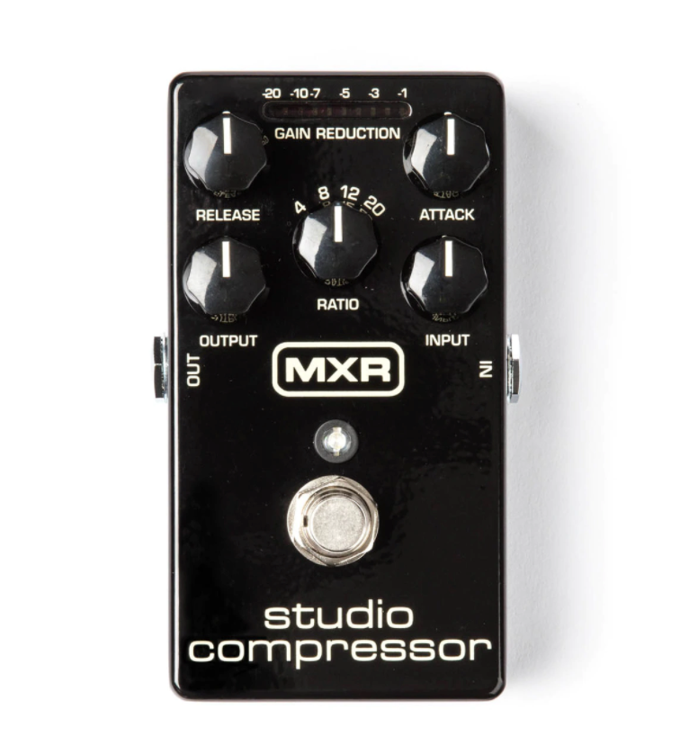 MXR M76 Studio Compressor Guitar Effect Pedal