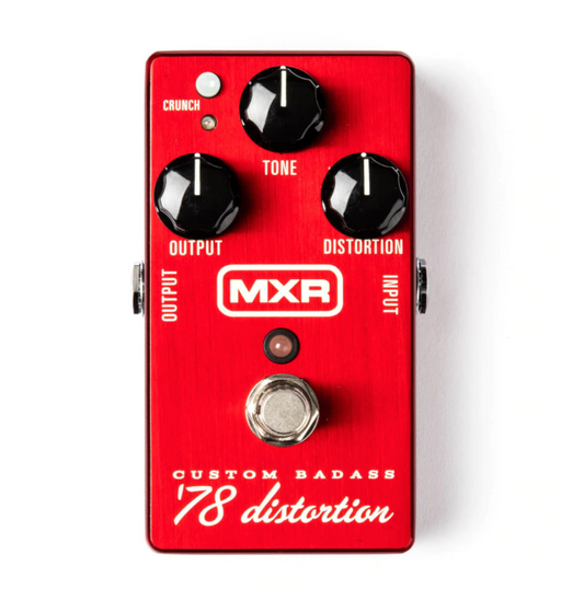 MXR M78 Badass Distortion Guitar Effect Pedal