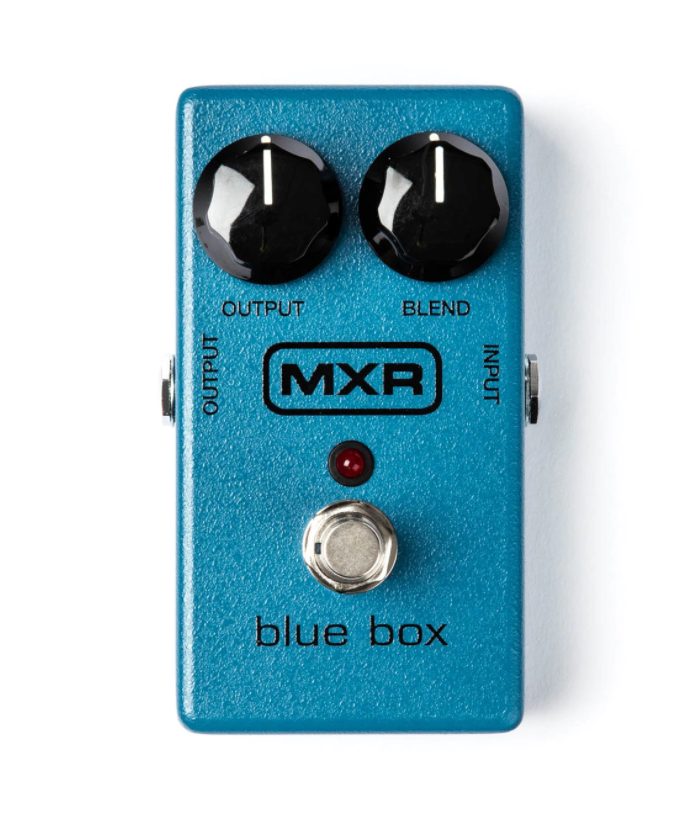 MXR M103 Blue Box Fuzz Guitar Effect Pedal
