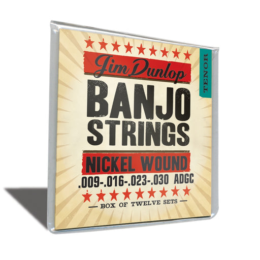 DUNLOP DJN0930 BANJO STRINGS NKL TENOR - 4/SET