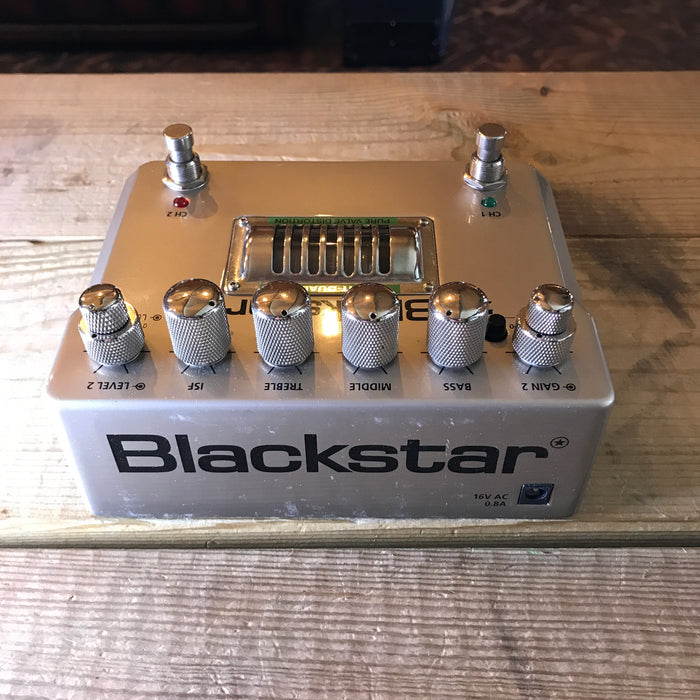 Blackstar HT-Dual Valve Distortion Overdrive Guitar Effect Pedal - Pre-loved