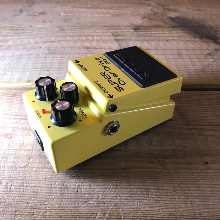 Boss SD-1 Super Overdrive Guitar Effect Pedal - Pre-loved