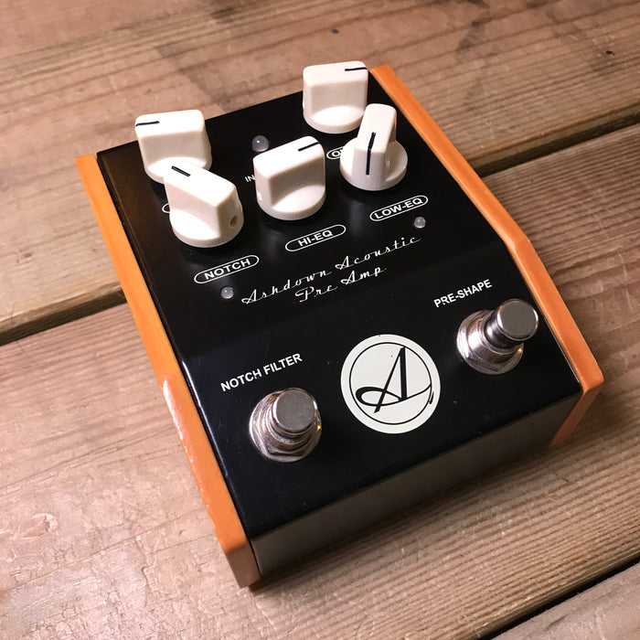Ashdown Acoustic Preamp Guitar Effect Pedal - Pre-loved