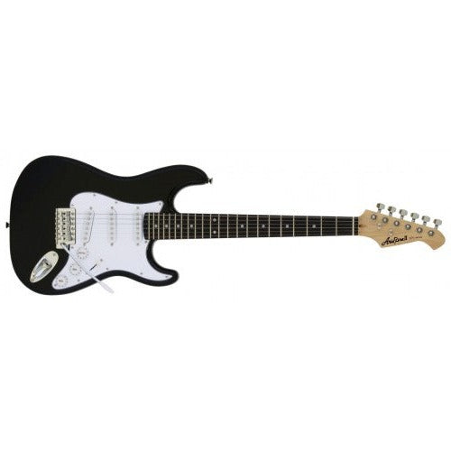 Aria STG Mini S Type Electric Guitar - Black