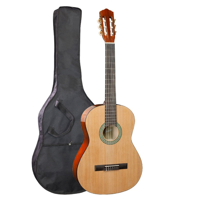 Jose Ferrer Estudiante Adult Full Size 4/4 Classical Guitar with Gigbag