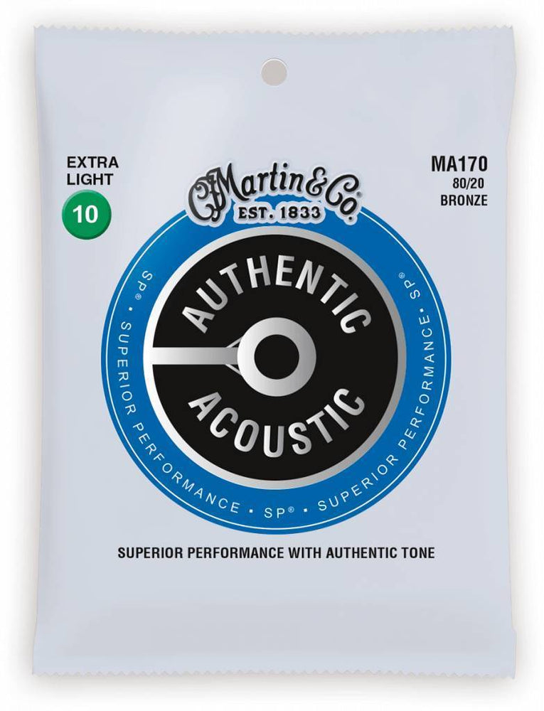 Martin & Co. MA170 Acoustic Guitar Strings - Bronze Extra Light