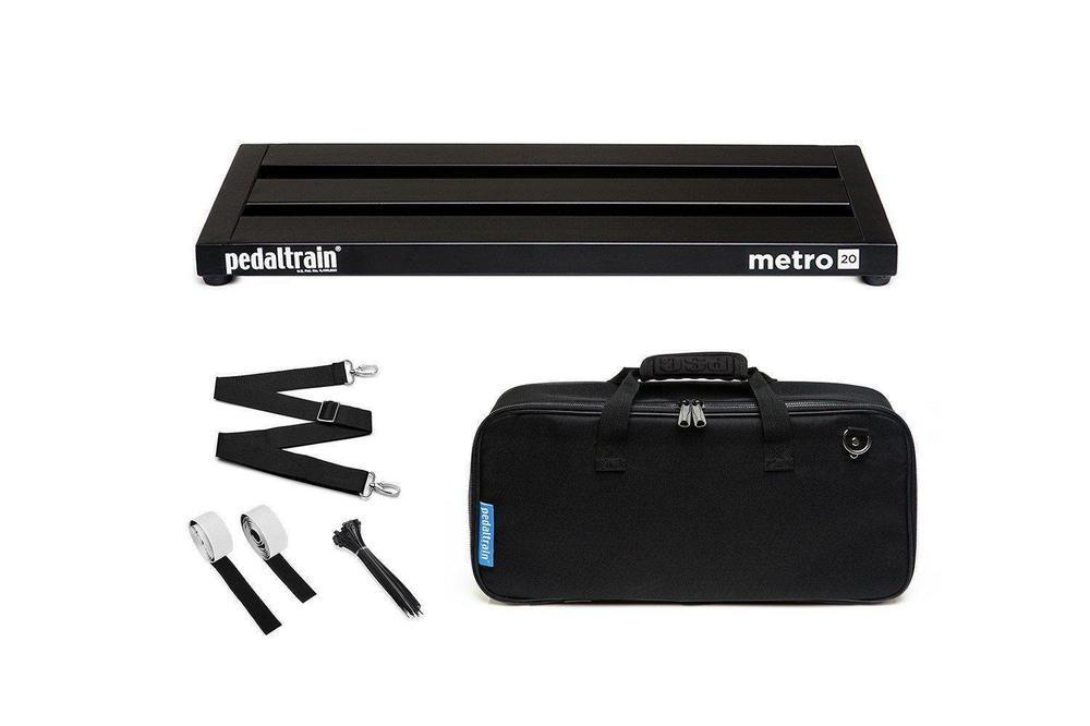 Pedaltrain® Metro 20 Pedalboard with Soft Case