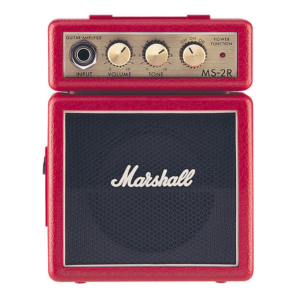 Marshall MS-2 Red Mini Guitar Amp