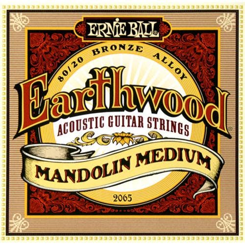ERNIE BALL EARTHWOOD MANDOLIN MEDIUM LOOP END 80/20 BRONZE ACOUSTIC GUITAR STRINGS - 10-36 GAUGE