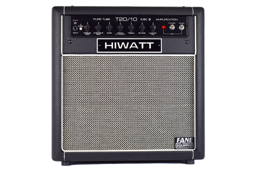 "Hiwatt T20/10C SWITCHABLE 20W/10W COMBO W/ 1X12"" OCTAPULSE SPEAKER & TRUE-SPRING REVERB"