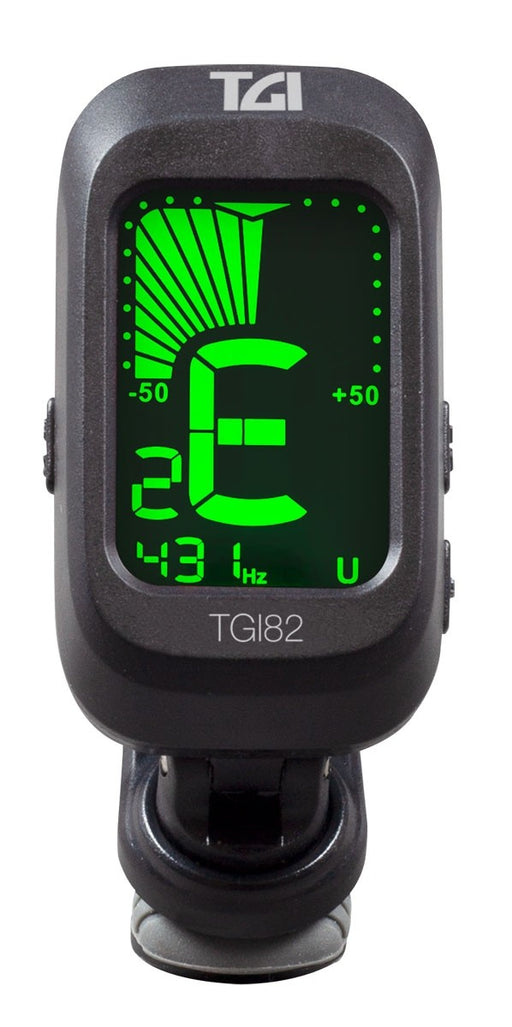 TGI CHOMATIC TUNER DIGITAL CLIP ON for Guitar, Bass, Violin, Ukulele.