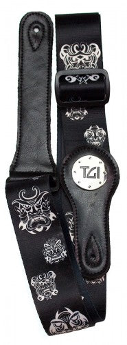 Warrior Mask Guitar Strap - TGI