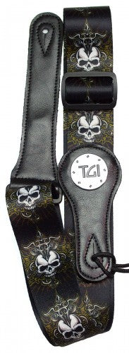 Skull Celtic Cross Guitar Strap - TGI