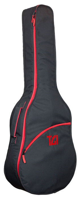 TGI Padded Carry Gig Bag. 4/4 Classical Acoustic Guitar. Transit Series