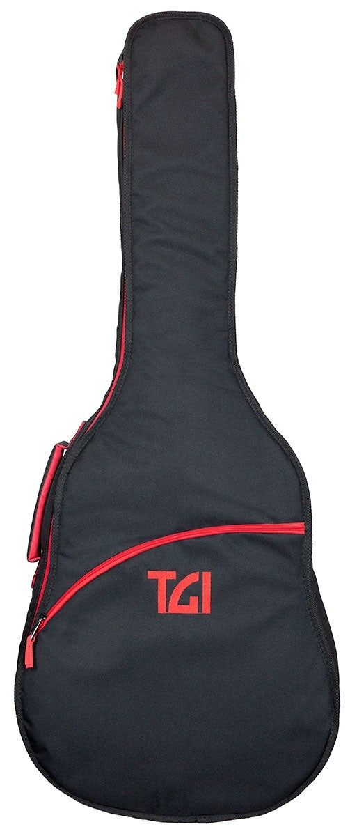 TGI Padded Carry Gig Bag. Acoustic Dreadnought Guitar. Transit Series