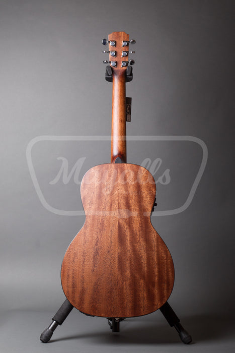 James Neligan Parlour Electro Acoustic Guitar - Mahogany - DOV-PFI