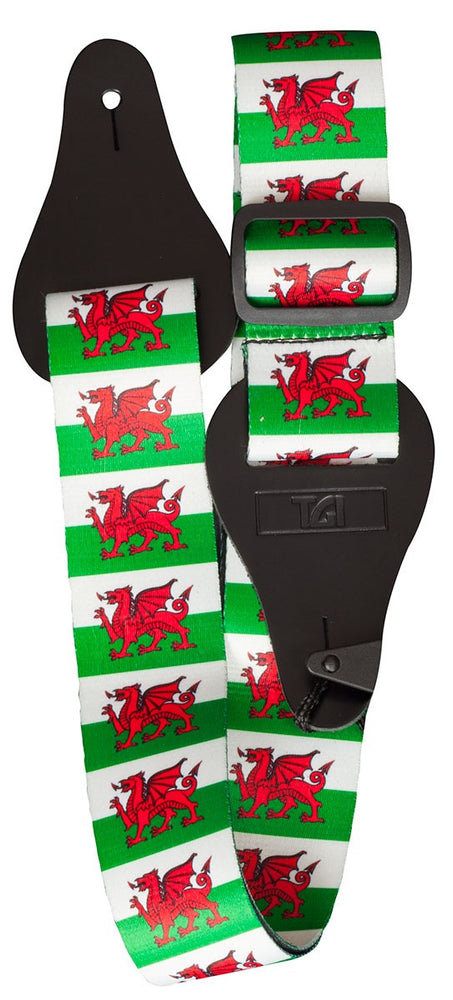 Welsh Dragon Guitar Strap - TGI