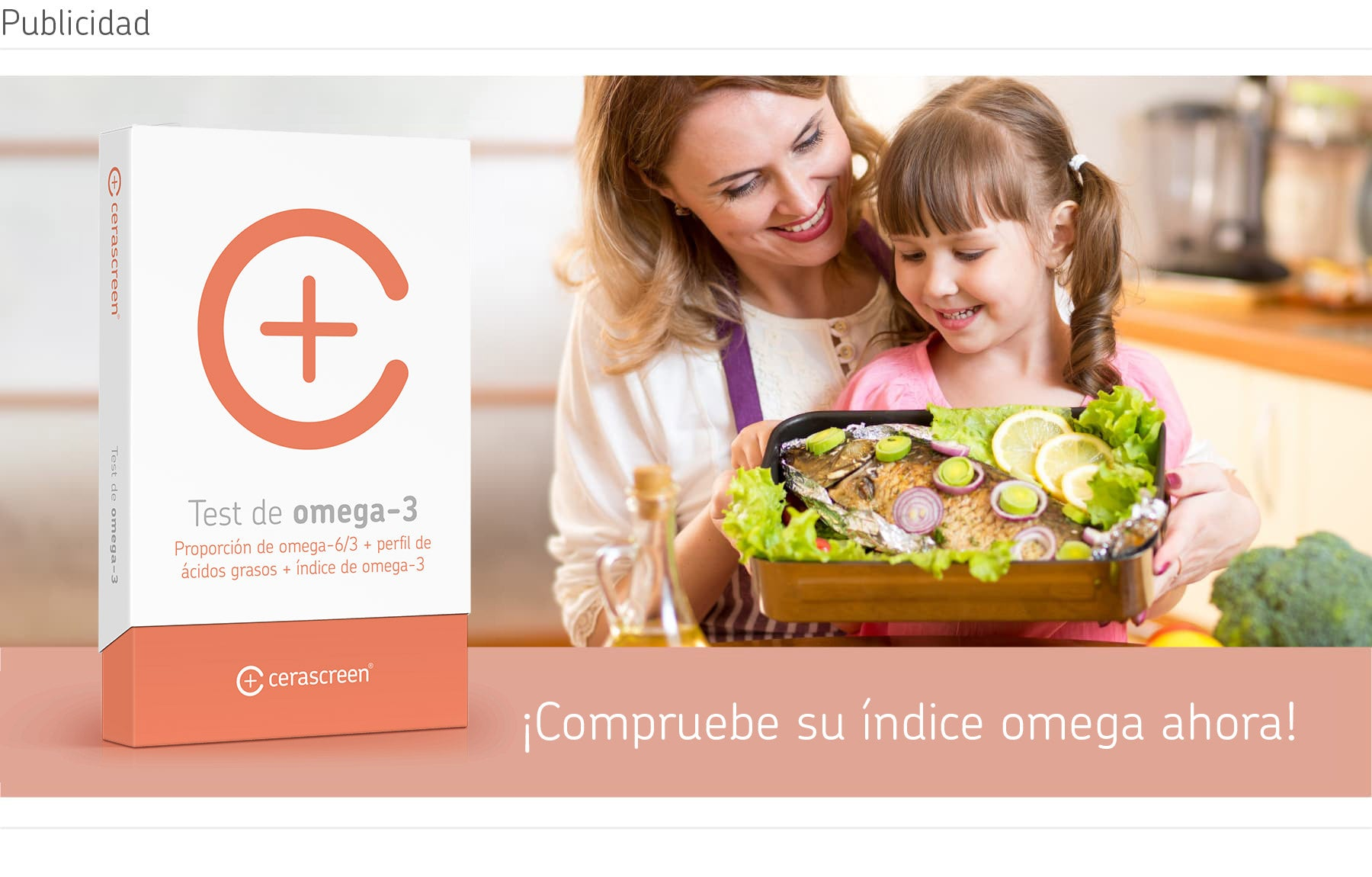 Test Omega 3 cerascreen