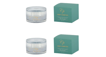 Twin Pack Eye Cream with Vitamin E & C-Crisp Cosmetics