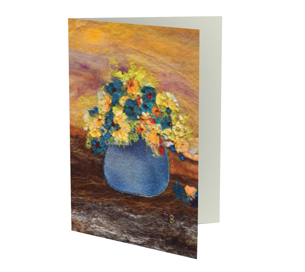 Breakfast Posy Greeting Card