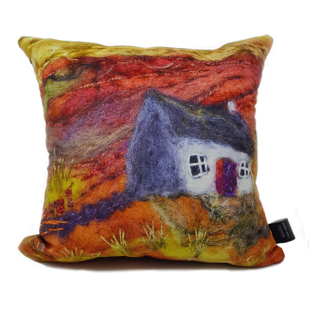 The Tipsy Cottage Cushion Cover