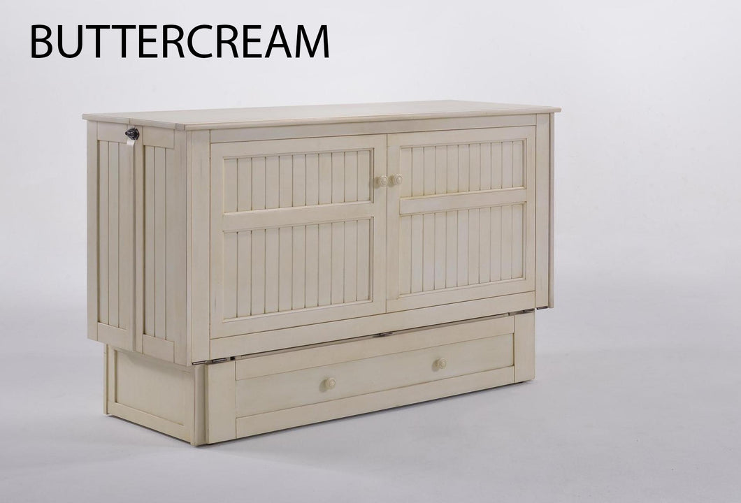 Daisy Buttercream - Murphy Bed Cabinet