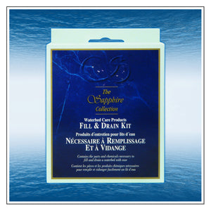 Fill and Drain Kit - Blue Magic Waterbed Care Products