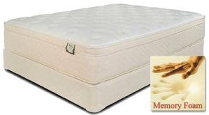 Mattresses - Carlton Memory Foam