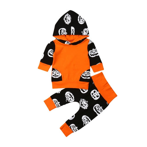Pumpkin Hoodie and Pants