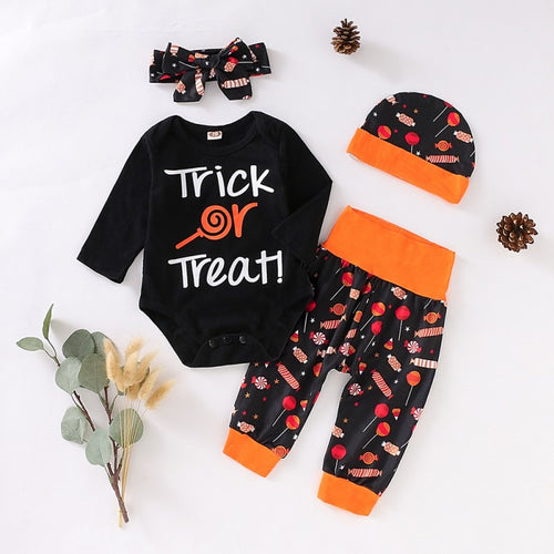 Trick or Treat 4 Pcs