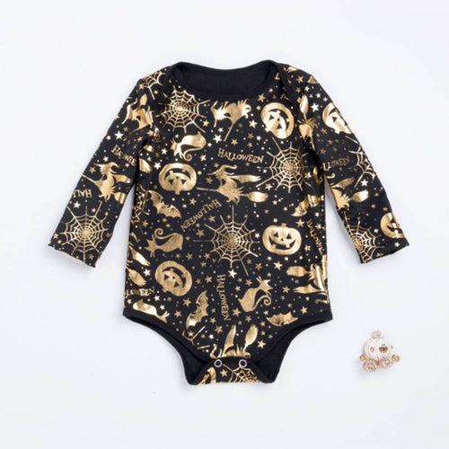 Golden Pumpkin Onesie