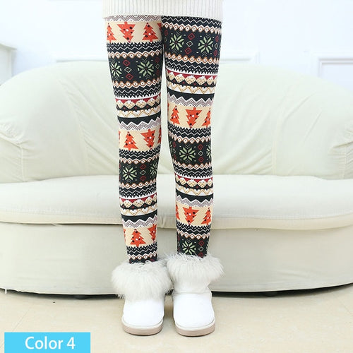Winter Leggings For Girls
