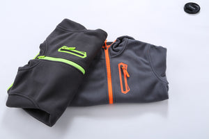 Hooded Soft Shell Fleece Jacket
