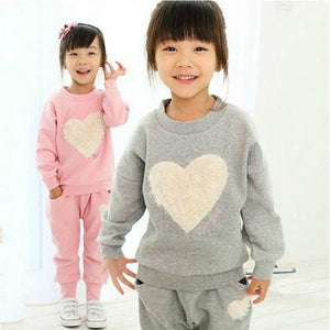 Painted 2 Piece Girl's Track Suit