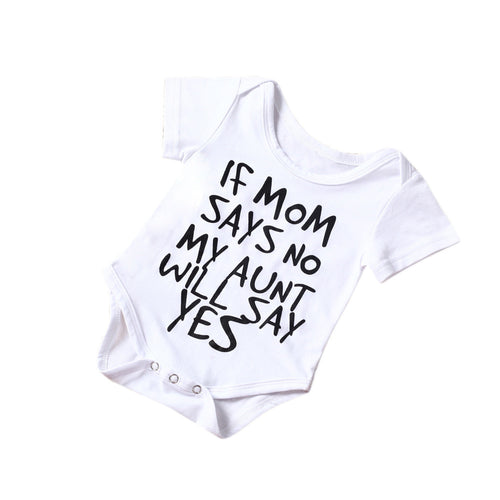 For The Aunt White Onesie