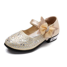 Load image into Gallery viewer, Toddler Rhinestone Dance Shoes