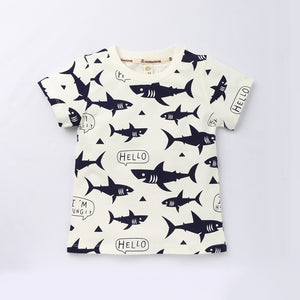 Kids Shark T-shirts