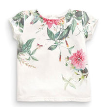Load image into Gallery viewer, Short Sleeve Flower Print Shirt