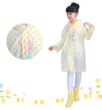 Load image into Gallery viewer, Transparent Dots Kids Rain Gear