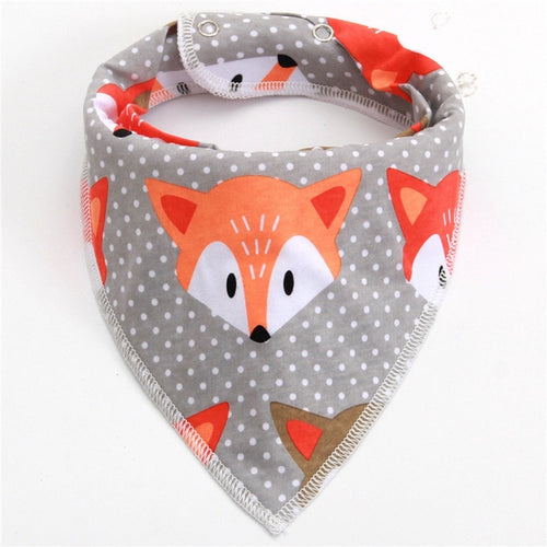 Animals And Shapes Bandanna Bibs