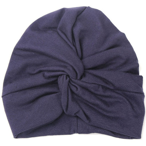 Cotton Soft Turban Kids Hat