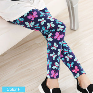 Cotton Pencil Pants For Girls