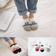 Load image into Gallery viewer, Ankle Designer Socks 5 Pairs