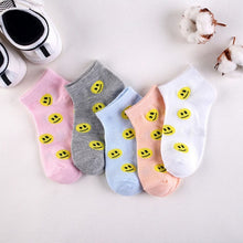 Load image into Gallery viewer, Designer Ankle Socks 5 Pairs