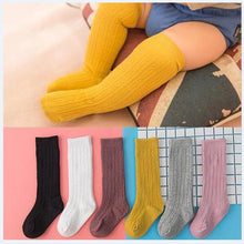 Load image into Gallery viewer, Cotton Knee high For Toddlers
